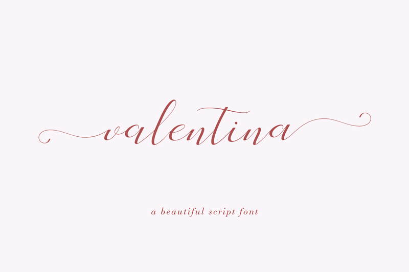 Valentina Script Font - Calligraphy Fonts, Script Fonts, Typography Fonts, Typography Logo, Handwritten Fonts, Handwriting, Hand Lettering Drawing, Diy Projects, Diy Stationery, Diy Event, Paper Crafts, Diy Book, Wedding Stationery, Christmas, Holiday, Logo And Identity Design, Book And Magazine Design, Packaging And Label Design, Modern Font