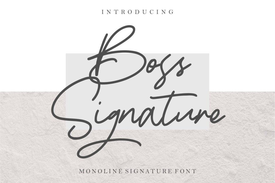 Boss Signature Font - Check out my list with 10 New Hot Script Fonts for branding your projects in 2019. It is never too late to add charm to your blog! Art, Fonts and Calligraphy, Typography, Handwritten Fonts, Script Fonts, Modern Fonts, Cursive Fonts, Design Fonts, Calligraphy Fonts, Simple Fonts, Elegant Fonts, Professional Fonts, Beautiful Fonts