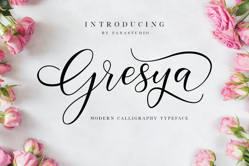 Gresya Calligraphy Font - Art, Fonts and Calligraphy, Typography, Handwritten Fonts, Alphabet Fonts, Free Fonts, Script Fonts, Modern Fonts, Cursive Fonts, Design Fonts, Rustic Fonts, Calligraphy Fonts, Simple Fonts, Serif Fonts, Elegant Fonts, Professional Fonts, Beautiful Fonts