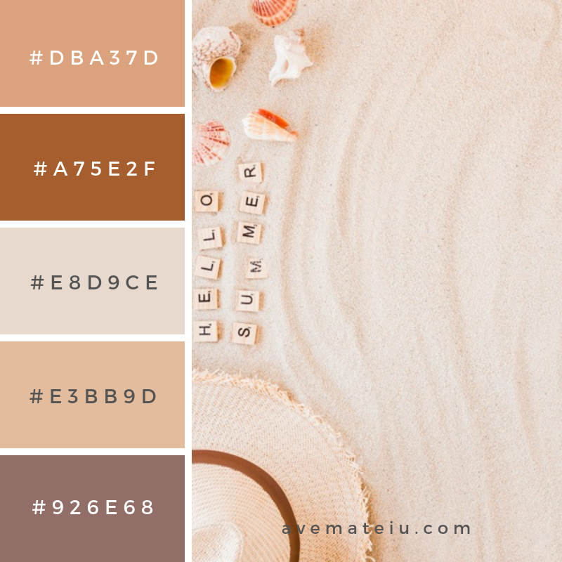 Summer Color Palette #18 - color combination, color inspiration, color palette, color palettes, color scheme, color schemes, design, Fashion, hex codes, pantone summer color palette, summer
