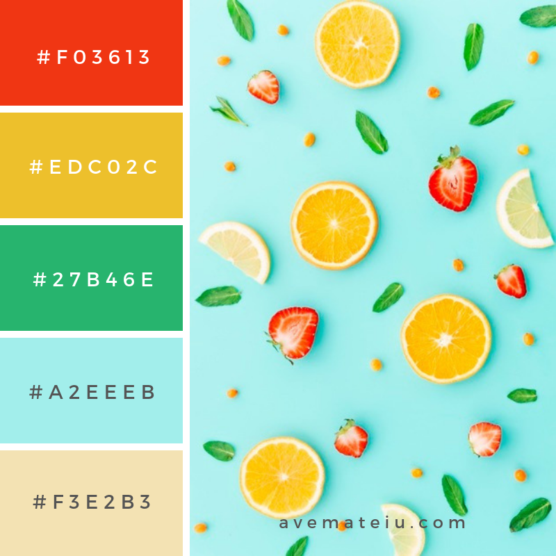 Summer Color Palette #6 - color combination, color inspiration, color palette, color palettes, color scheme, color schemes, design, Fashion, hex codes, pantone summer color palette, summer
