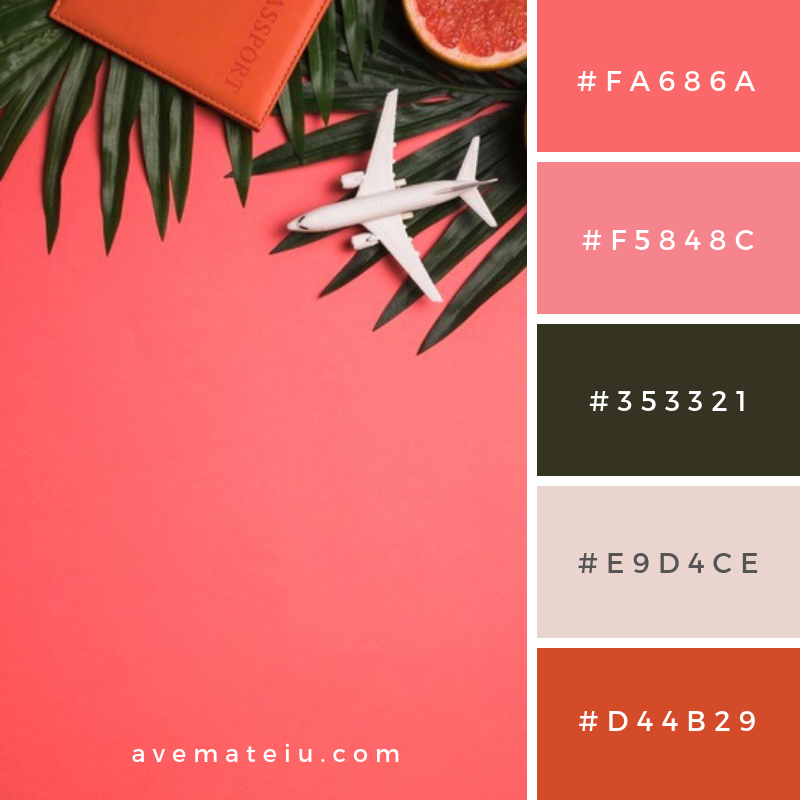 Summer Color Palette #7 - color combination, color inspiration, color palette, color palettes, color scheme, color schemes, design, Fashion, hex codes, pantone summer color palette, summer
