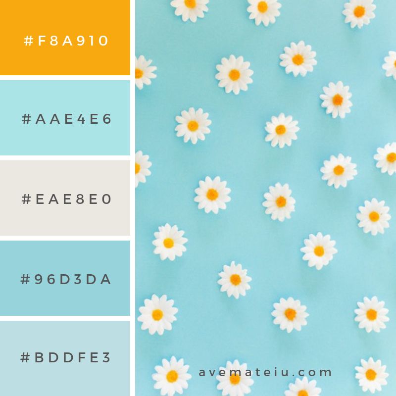 Summer Color Palette #8 - color combination, color inspiration, color palette, color palettes, color scheme, color schemes, design, Fashion, hex codes, pantone summer color palette, summer