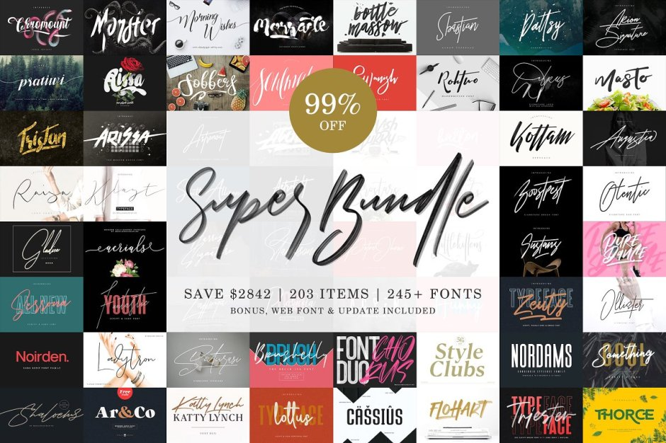Super Font Bundle - 99% OFF - Check out my list with 10 New Hot Script Fonts for branding your projects in 2019. It is never too late to add charm to your blog! Art, Fonts and Calligraphy, Typography, Handwritten Fonts, Script Fonts, Modern Fonts, Cursive Fonts, Design Fonts, Calligraphy Fonts, Simple Fonts, Elegant Fonts, Professional Fonts, Beautiful Fonts