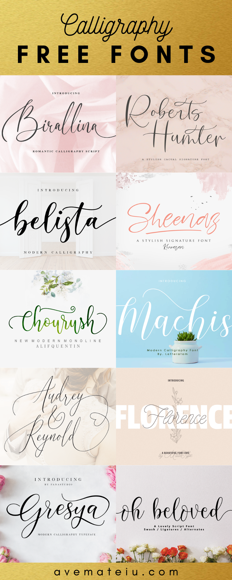 10 new free beautiful calligraphy fonts  u2013 part 4  u2013 ave mateiu