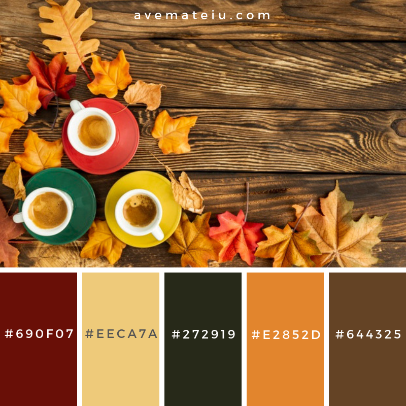 Colorful cups of coffee with copy space Color Palette #334 - Color combination, Color pallets, Color palettes, Color scheme, Color inspiration, Colour Palettes, Art, Inspiration, Vintage, Bright, Blue, Warm, Dark, Design, Yellow, Green, Grey, Red, Purple, Rustic, Fall, Autumn, Winter, Autumn 2019, Nature, Spring, Summer, Flowers, Sunset, Sunrise, Pantone https://avemateiu.com/color-palettes/