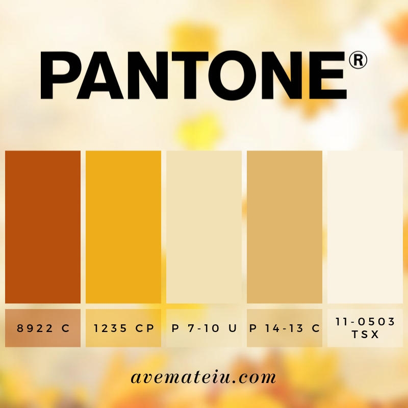 Bokeh Light Photography of Brown Leafed Plant Pantone Color Palette #342