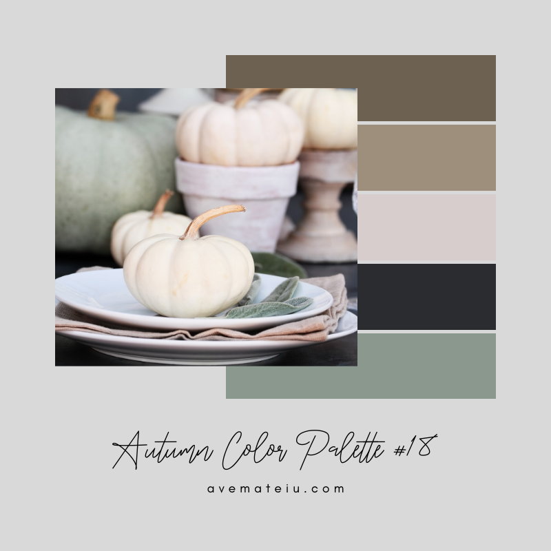 Autumn Color Palette 18 - Color combination, Color pallets, Color palettes, Color scheme, Color inspiration, Colour Palettes, Art, Inspiration, Vintage, Bright, Background, Warm, Dark, Design, Yellow, Green, Orange, Red, Purple, Rustic, Fall, Autumn, Thanksgiving, Autumn 2019, Nature, Seasonal, Wood, Wooden, Season, Natural