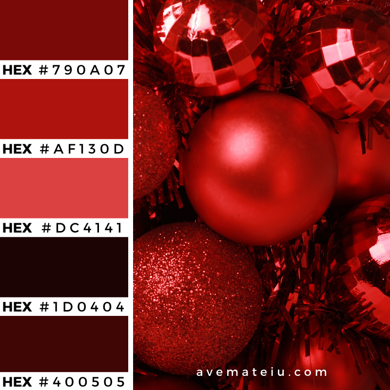 Christmas Background Color Palette 359 - Color combination, Color pallets, Color palettes, Color scheme, Color inspiration, Colour Palettes, Art, Inspiration, Vintage, Bright, Background, Warm, Dark, Design, Yellow, Green, Orange, Red, Purple, Rustic, Fall, Christmas, Thanksgiving, Christmas 2019, Nature, Seasonal, Wood, Wooden, Season, Natural