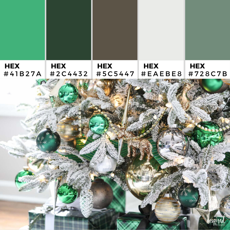 Christmas tree fit for Emerald City Color Palette 360 - Color combination, Color pallets, Color palettes, Color scheme, Color inspiration, Colour Palettes, Art, Inspiration, Vintage, Bright, Background, Warm, Dark, Design, Yellow, Green, Orange, Red, Purple, Rustic, Fall, Christmas, Thanksgiving, Christmas 2019, Nature, Seasonal, Wood, Wooden, Season, Natural