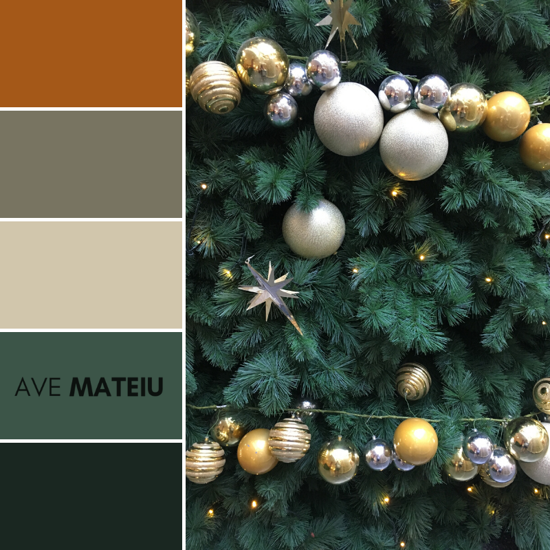 Christmas Decorations Color Palette 363 - Color combination, Color pallets, Color palettes, Color scheme, Color inspiration, Colour Palettes, Art, Inspiration, Vintage, Bright, Background, Warm, Dark, Design, Yellow, Green, Orange, Red, Purple, Rustic, Fall, Christmas, Thanksgiving, Christmas 2019, Nature, Seasonal, Wood, Wooden, Season, Natural