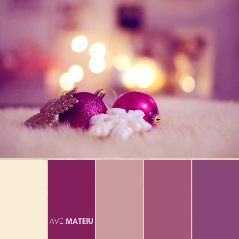 Christmas Color Palette #11 - Color combination, Color pallets, Color palettes, Color scheme, Color inspiration, Colour Palettes, Art, Inspiration, Bright, Background, Warm, Dark, Design, Yellow, Green, Orange, Red, Purple, Blue, Gold, Silver, Rose Gold, Rustic, Christmas 2019, Winter, Nature, Seasonal, Season, Natural