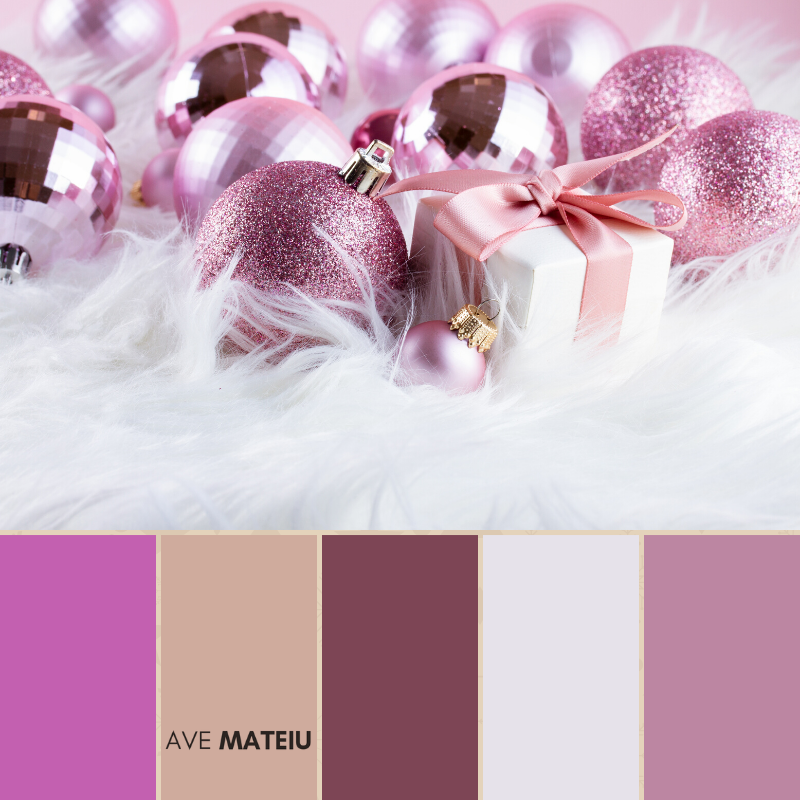 Christmas Color Palette #12 - Color combination, Color pallets, Color palettes, Color scheme, Color inspiration, Colour Palettes, Art, Inspiration, Bright, Background, Warm, Dark, Design, Yellow, Green, Orange, Red, Purple, Blue, Gold, Silver, Rose Gold, Rustic, Christmas 2019, Winter, Nature, Seasonal, Season, Natural