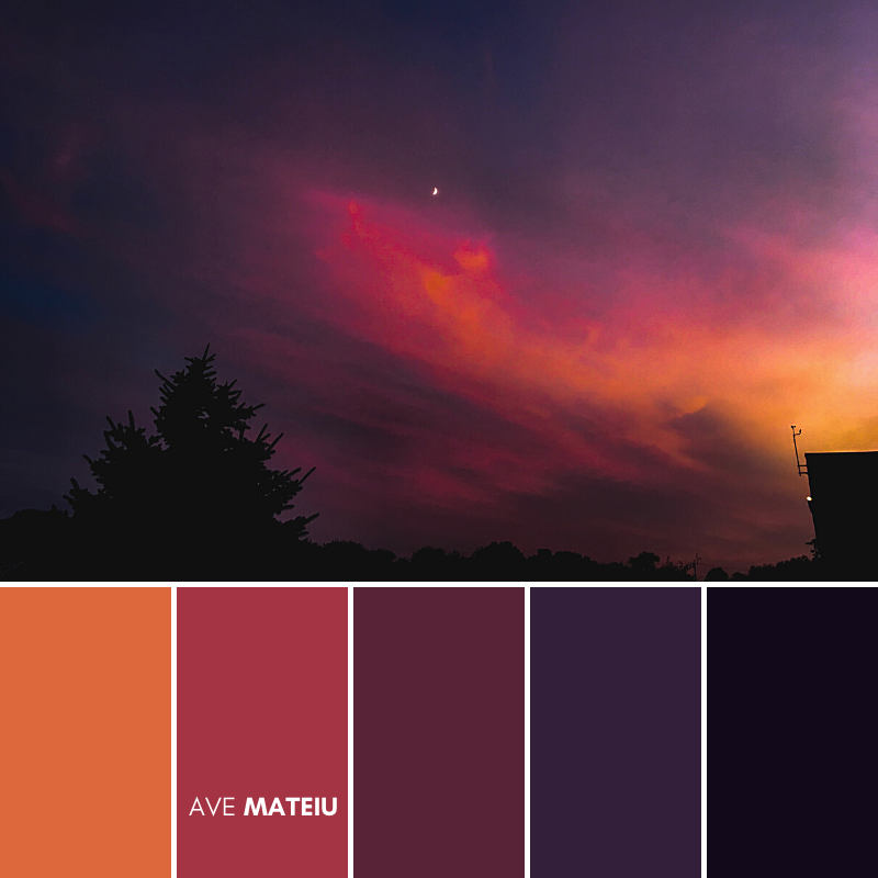 Sky fall sunset outdoors landscape scenery USA horizontal Photography Color Palette #386 - Fall Autumn 2020, color palette, color palettes, colour palettes, color scheme, color inspiration, color combination, art tutorial, collage, digital art, canvas painting, wall art, home painting, photography, weddings by color, inspiration, vintage, wallpaper, background, rustic, seasonal, season, natural, nature
